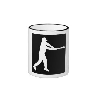 Talud del béisbol taza de café