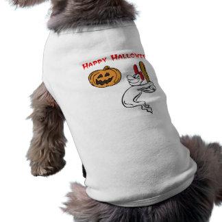 Talud fantasmal camisetas de mascota