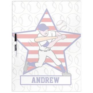 Talud personalizado v1 del béisbol de las barras y pizarras blancas de calidad