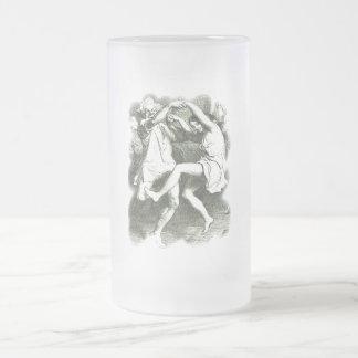 Tam O'Shanter 16 Oz Frosted Glass Beer Mug