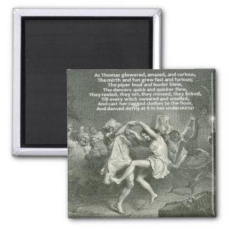 Tam O'Shanter 2 Inch Square Magnet