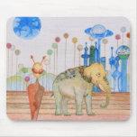 TAMA and her Elephant Mousepad