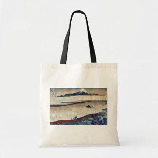 Tama River in Bushu by Katsushika, Hokusai Ukiyoe Bag
