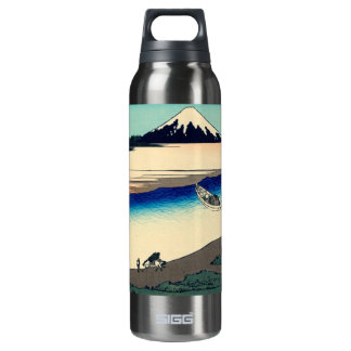 Tama River in Musashi Province Insulated Water Bottle