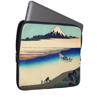 Tama River in Musashi Province Laptop Computer Sleeve