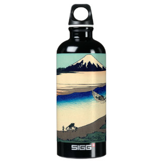 Tama River in Musashi Province Water Bottle