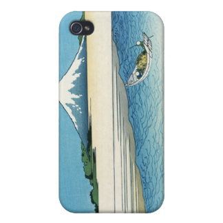 Tama River in the Musashi Province, Hokusai iPhone 4/4S Covers