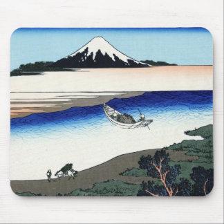 Tama river in the Musashi province Hokusai Mouse Pad