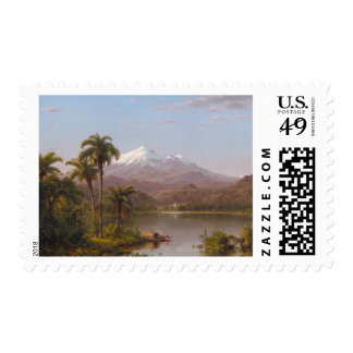 Tamaca Palms along the Magdalena River in Colombia Postage