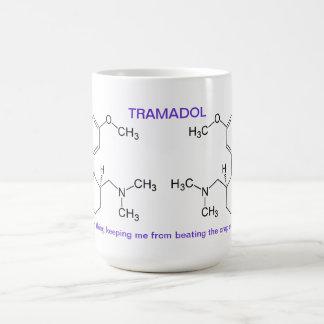 Tamadol is saving your life classic white coffee mug