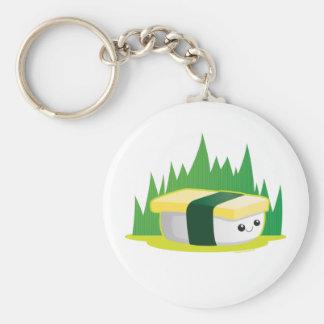 Tamago Basic Round Button Keychain