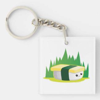 Tamago Single-Sided Square Acrylic Keychain