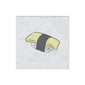 Tamago Sushi Eggroll Sushi Maki Japanese Food Love Stone Magnet