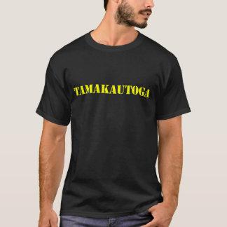 Tamakautoga Niue Village T shirt YELLOW
