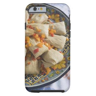 Tamales en la placa decorativa funda para iPhone 6 tough