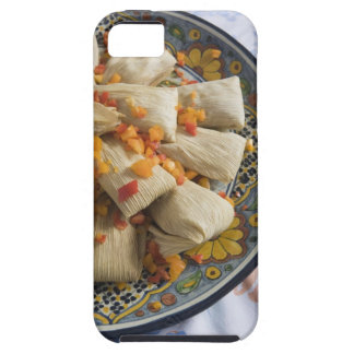 Tamales en la placa decorativa iPhone 5 funda