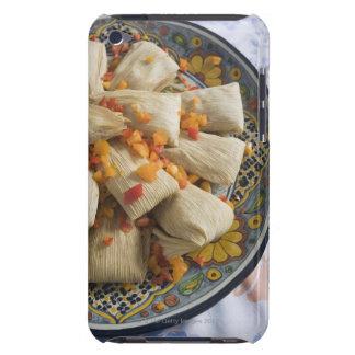Tamales en la placa decorativa iPod touch carcasas