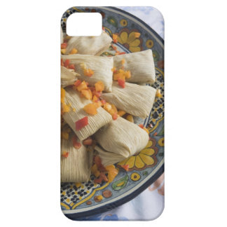 Tamales on decorative plate iPhone SE/5/5s case