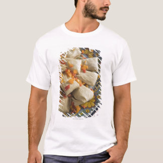 Tamales on decorative plate T-Shirt