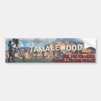 Tamalewood: Las Vegas, New México Pegatina Para Auto