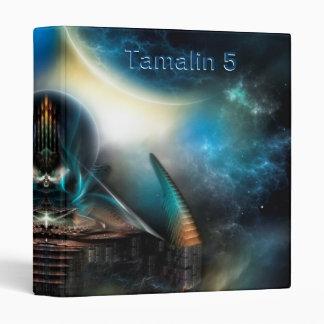 Tamalin 5 Science Fiction Artwork Three Ring Binde 3 Ring Binder