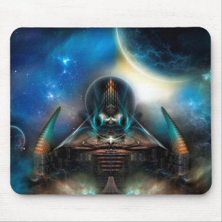 Tamalin 5 Science Fiction Fractal Artwork Mouse Pad
