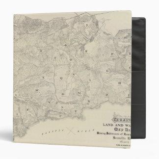 Tamalpais Land and Water Company map 3 Ring Binder