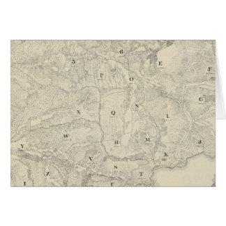 Tamalpais Land and Water Company map Card