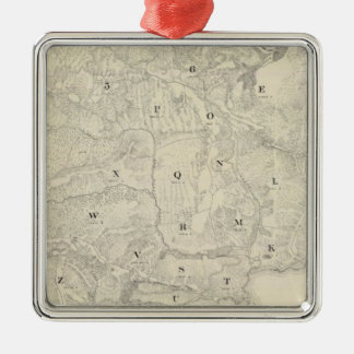 Tamalpais Land and Water Company map Metal Ornament
