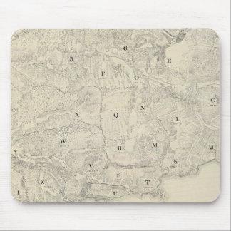 Tamalpais Land and Water Company map Mouse Pads