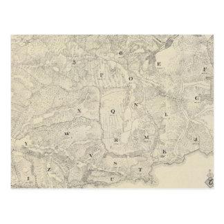 Tamalpais Land and Water Company map Postcard