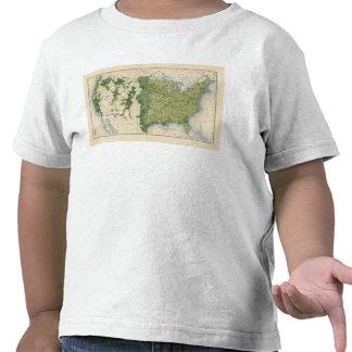 Tamaño 129 de las granjas 1900 camisetas