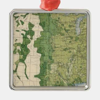 Tamaño 129 de las granjas 1900 ornamento para arbol de navidad