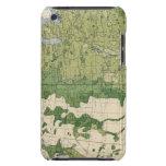 Tamaño 129 de las granjas 1900 iPod touch Case-Mate protectores
