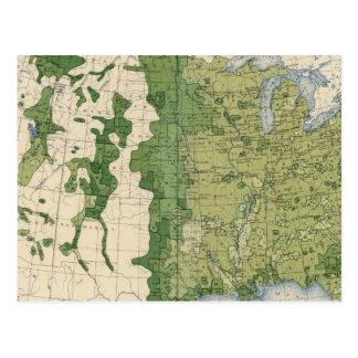 Tamaño 129 de las granjas 1900 postal