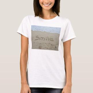 Tamaño de la camiseta de la sonrisa pequeño