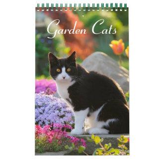 Tamaño de los gatos 2017 del jardín pequeño calendarios