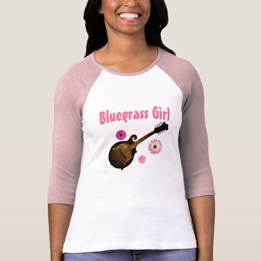 """""""TAMAÑO de T~shirt del jersey del chica del Bluegr Playeras"""