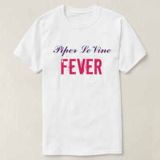 Tamaño extra grande de la camiseta de la fiebre de playeras