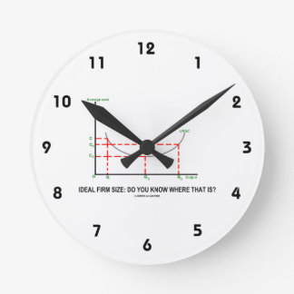 Tamaño firme ideal: ¿Usted sabe donde está eso? Reloj Redondo Mediano
