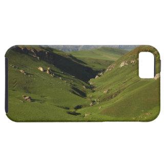 Tamaño grande, el castillo del gigante, montañas funda para iPhone 5 tough