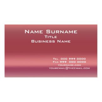 Tamaño normal y colores 2, tarjeta del negocio de  tarjetas de visita