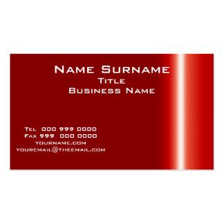 Tamaño normal y colores, coche de la tarjeta de tarjetas de visita