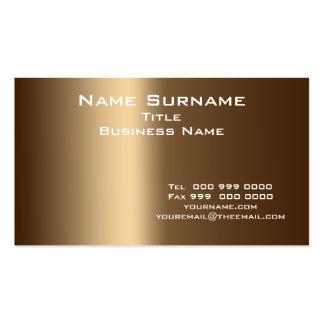 Tamaño normal y colores, tarjeta del negocio de vi tarjetas de visita
