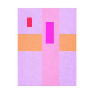 Tamaño pequeño adicional lienzo envuelto para galerías