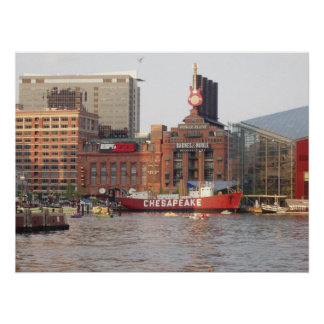Tamaños de la impresión de Baltimore, Maryland div Poster