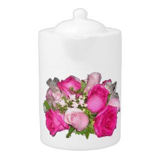 Tamaños de la tetera de los rosas (2)