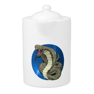Tamaños de la tetera del relámpago de la cobra (2)