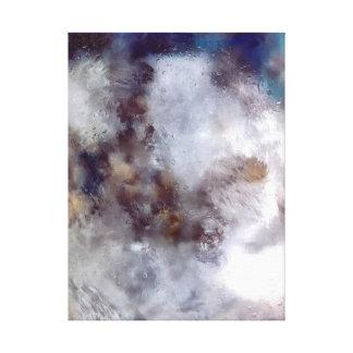 """Tamaños opcionales abstractos de la """"oleada"""" del impresión en tela"""