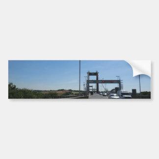Tamar Bridge - Cornish Border Bumper Sticker
